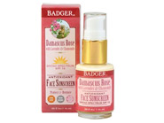 Badger Damascus Rose Face Sunscreen SPF 16 Broad Spectrum