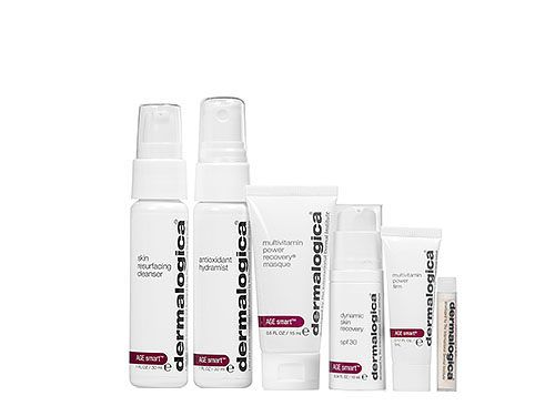 Dermalogica AGE Smart Starter Kit includes six Dermalogica AGE Smart products.