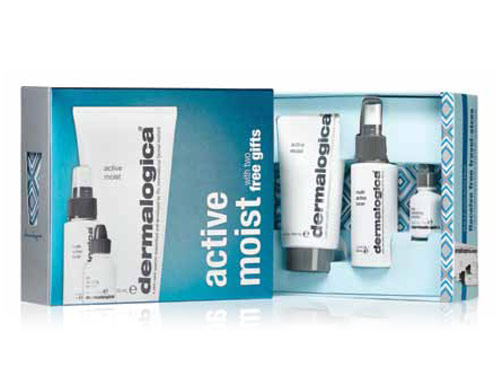 Dermalogica Active Moist Limited Edition Set with Free Gifts