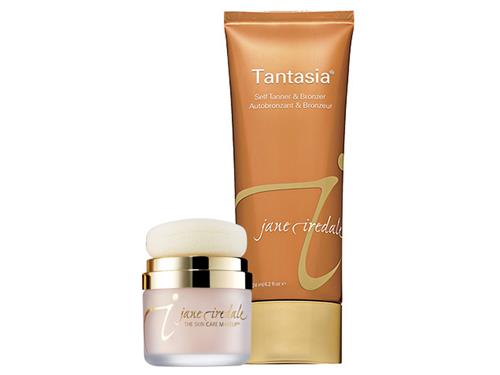 jane iredale Tantasia Self-Tanner & Powder-Me Dry Sunscreen Duo