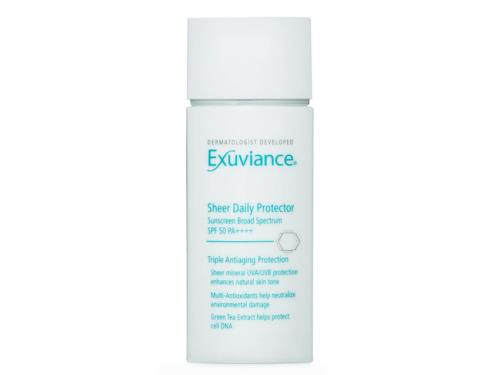Exuviance Sheer Daily Protector SPF 50: buy this zinc oxide sunscreen