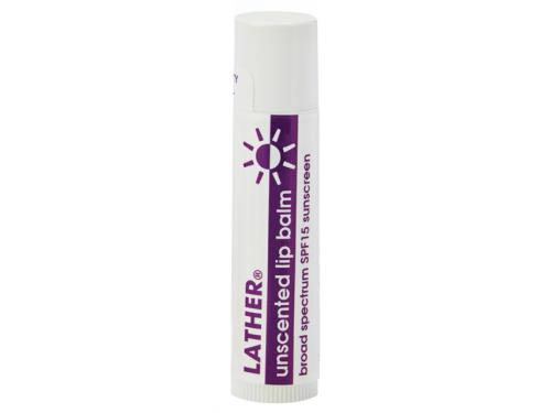 LATHER Lip Balm with SPF 15 - Unscented