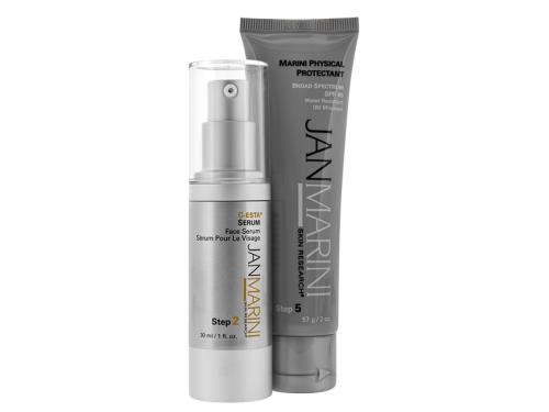Jan Marini C-ESTA Serum & Marini Physical Protectant Duo