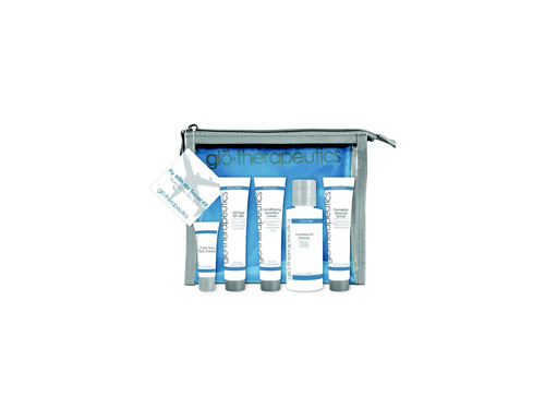glo therapeutics Fly With Me Travel Kit - Normal to Dry
