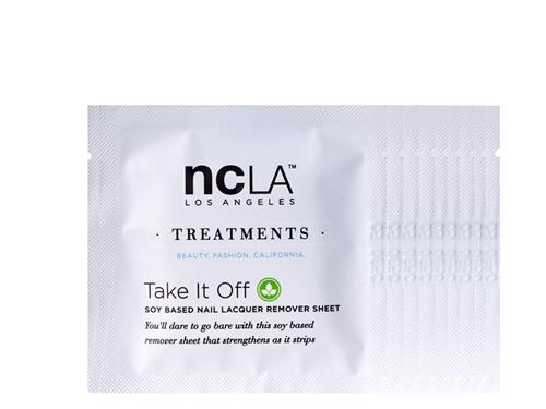 ncLA Take It Off Soy Based Nail Lacquer Remover Sheets