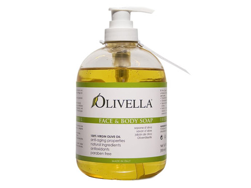 Olivella Face & Body Soap Liquid 16.9 fl oz