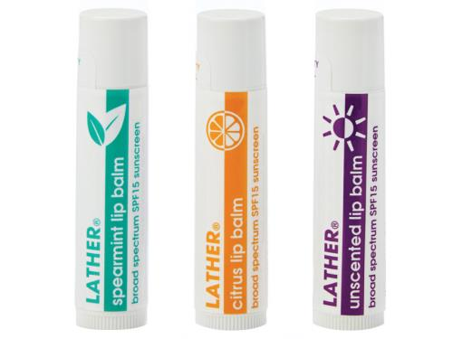 LATHER Lip Balm Trio