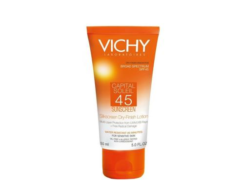 Vichy Capital Soleil SPF 45 Silkscreen Dry-Finish Lotion