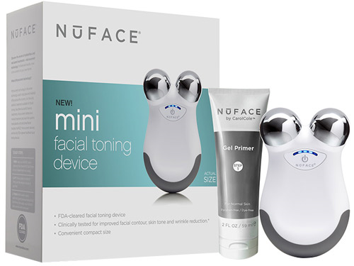 NuFACE mini Facial Toning Device - White