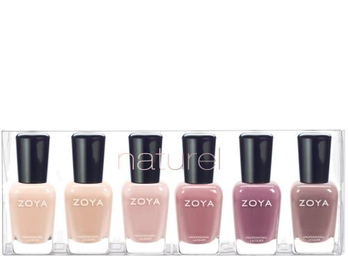 Zoya Naturel Lacquer Sampler Collection
