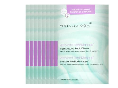patchology Exfoliate FlashMasque Facial Sheets - 8 Pack