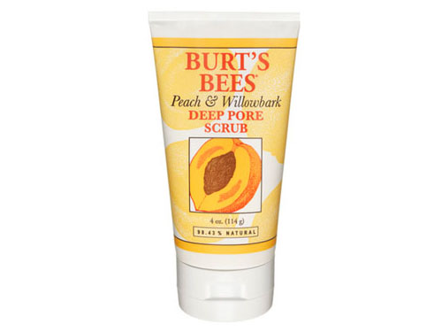 Burt's Bees Peach and Willowbark Pore Scrub