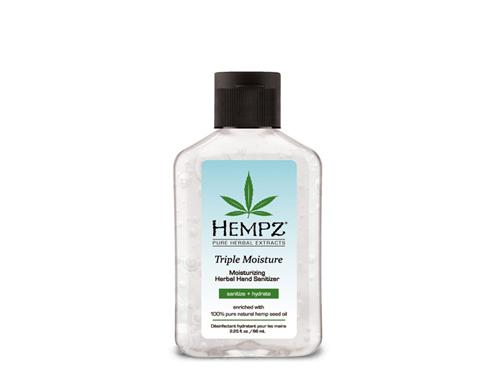 Hempz Triple Moisture Moisturizing Herbal Hand Sanitizer - Travel Size