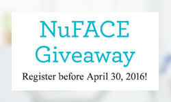 Win a NuFACE Mini Facial Toning Device