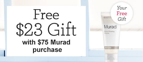 Free $23 Travel-Size Murad Body Care Firming Cream!