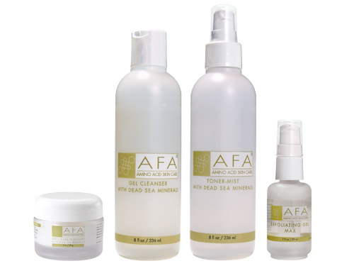 AFA Wrinkle Relief Starter Set for Oily Skin - Step Three Max