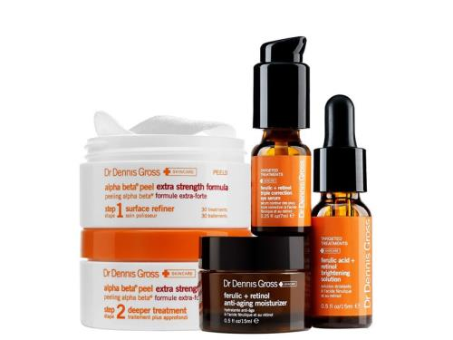 Dr. Dennis Gross Anti-Aging Bestsellers Kit with four Dr. Dennis Gross products