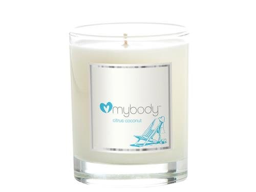 mybody SCENTED SPA CANDLE - Revitalizing Citrus Coconut