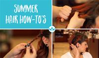 Summer Hair How-Tos