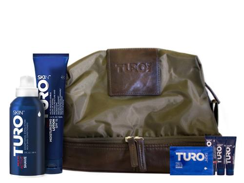 Turo Skin Travel Bag Gift Set - Essential Man