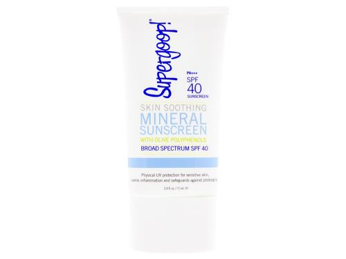 Supergoop! Skin Soothing Minerals Sunscreen with Olive Polyphenols SPF 40