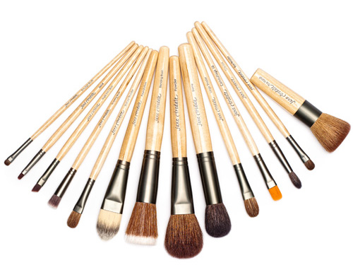 Jane Iredale Professional Brush Set, 14 jane iredale makeup brushes