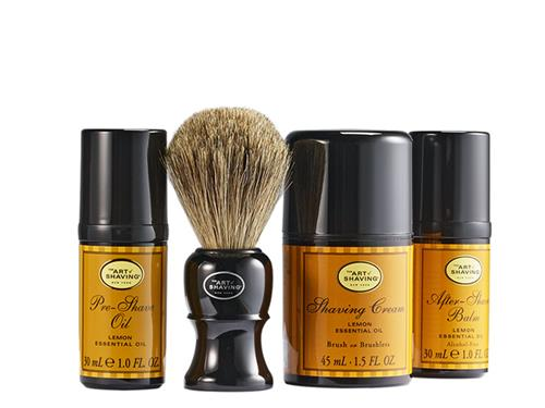 The Art of Shaving Mid Size Kit Lemon