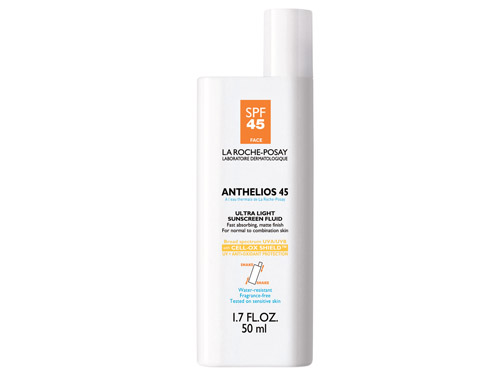 La Roche-Posay Anthelios 45 Ultra-Light Fluid, a La Roche Posay face sunscreen