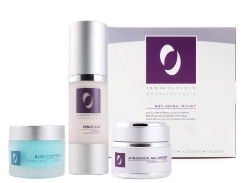 Osmotics Anti-Aging Trilogy Set with three Osmotics products