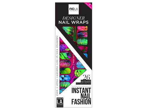ncLA Nail Wraps - Birds of Paradise