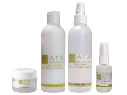 AFA Wrinkle Relief Starter Set for Dry Skin - Step One Mild