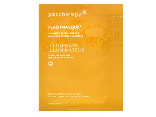 patchology Illuminate FlashMasque Lace Print Facial Sheets - Limited Edition
