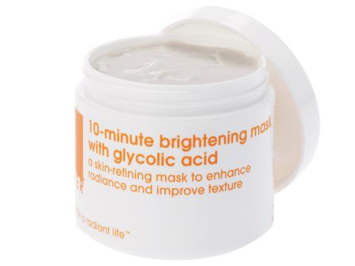 LATHER 10-Minute Brightening Mask with 7% Glycolic Acid