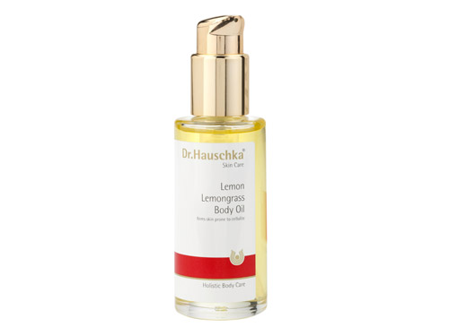 Dr. Hauschka Lemon Lemongrass Body Oil, a lemon body oil