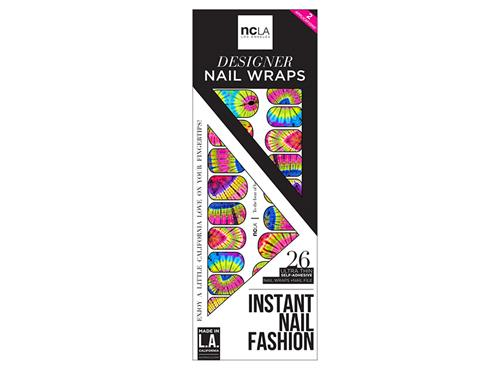 ncLA Nail Wraps - To The Beat Of Her Own Drum