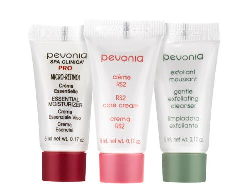 Free $18 Pevonia 3-Piece Sample Set