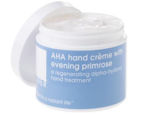 LATHER AHA Hand Crème with Evening Primrose - 4 oz