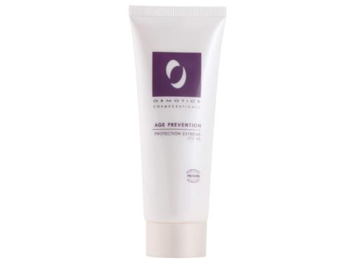 Osmotics Age Prevention Protection Extreme SPF 45, a zinc oxide sunscreen