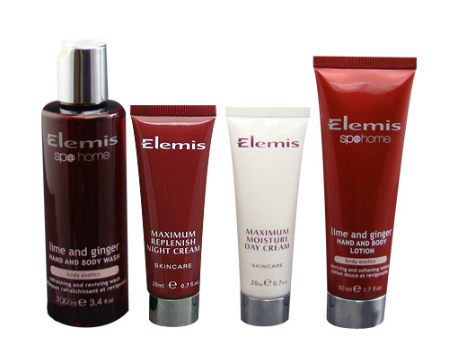 Elemis Energising Treasures Face and Bodycare Collection