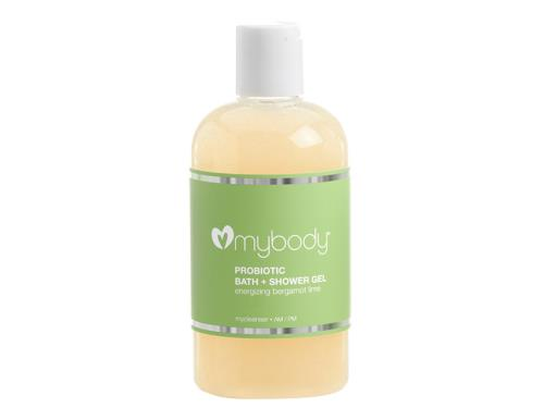mybody PROBIOTIC SHOWER GEL - Energizing Bergamot Lime
