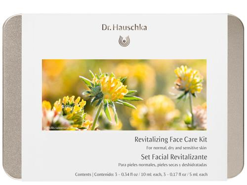 Dr. Hauschka Revitalizing Face Care Kit: Normal, Dry & Sensitive (formerly Daily Face Care Kit) with six Dr. Hauschka products