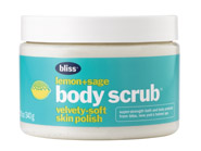 bliss Lemon + Sage Body Scrub