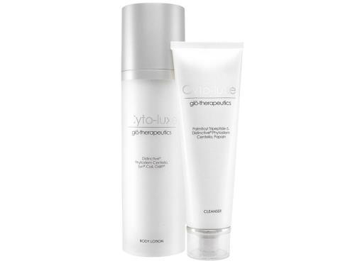 glo therapeutics Cyto-Luxe Cleanser & Cyto-Luxe Body Lotion Duo