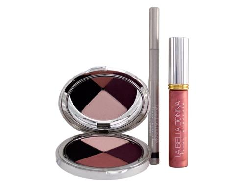 La Bella Donna Limited Edition Stroke of Midnight Eye, Cheek, and Lip Set