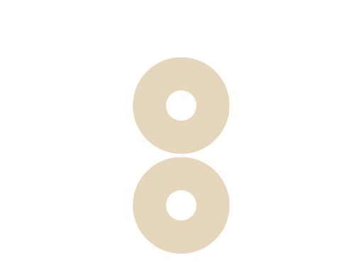 NewGel+ Silicone Areola Circles For Scars - Beige